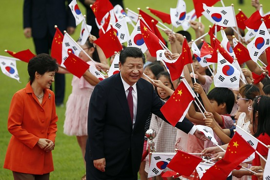 In South Korea, Xi Looks to Increase Regional Clout