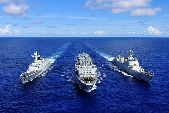 China's Unusual Decision to Spy On Naval Exercises