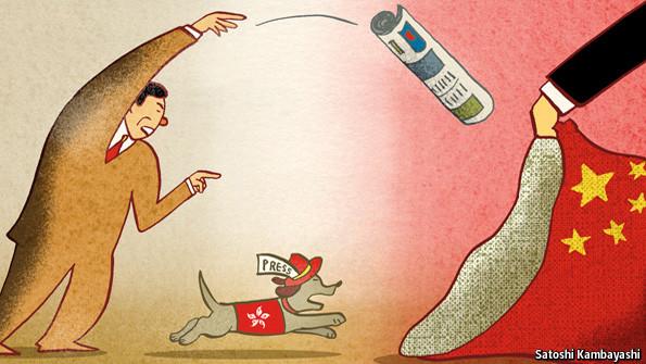 China Tightens Leash on Mainland & Hong Kong Press