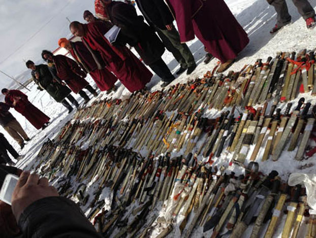 Why Tibetans are Destroying Their Weapons