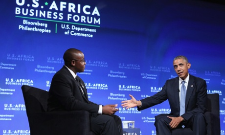 Obama Suggests U.S. is Better Partner to Africa
