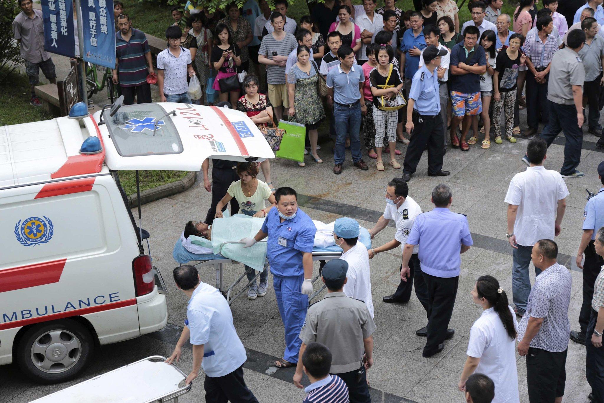 Explosion Kills Dozens at Eastern China Plant