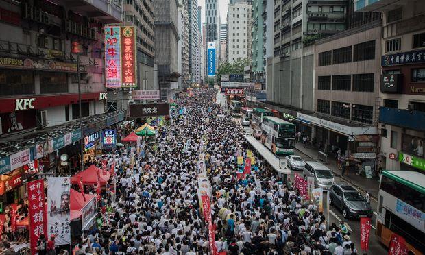 Hong Kong's Rallies and Counter-Rallies