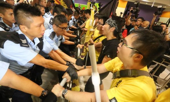 "Hong Kong Entering New ""Era of Resistance""?"