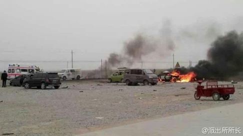 At Least Two Killed in Xinjiang Explosions