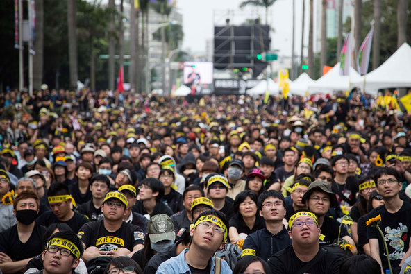 Taiwan Offers Support for Democracy in Hong Kong