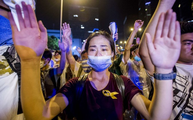 Censors Keep Mainland in the Dark About HK Protests