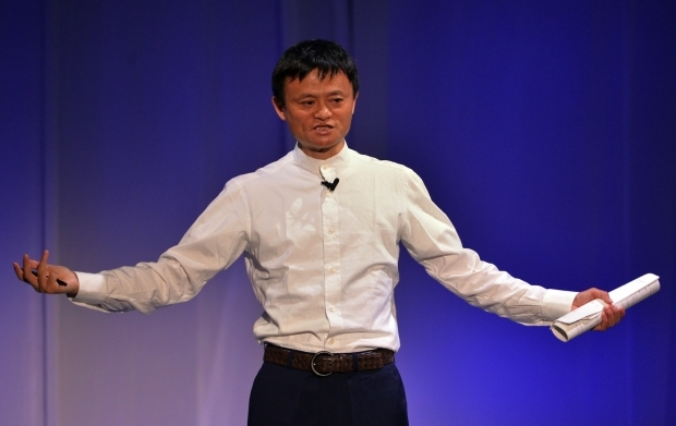 Alibaba Shares Surge in IPO Debut