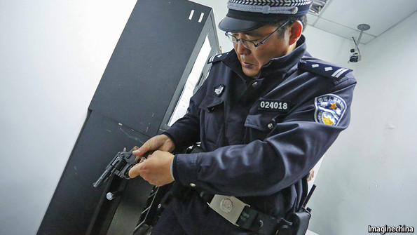China's Weaponized Police