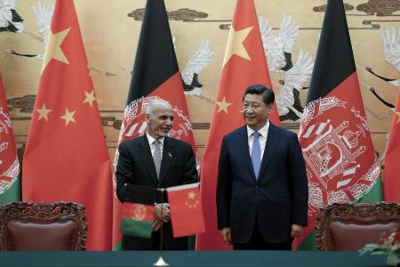 Afghan President Vows to Help China Fight Extremists