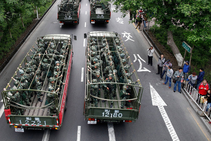 China's Outer Regions Watch Hong Kong Protests Intently