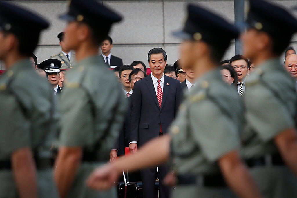 """Protesters to CY Leung: """"Quit or We Occupy Buildings"""""""
