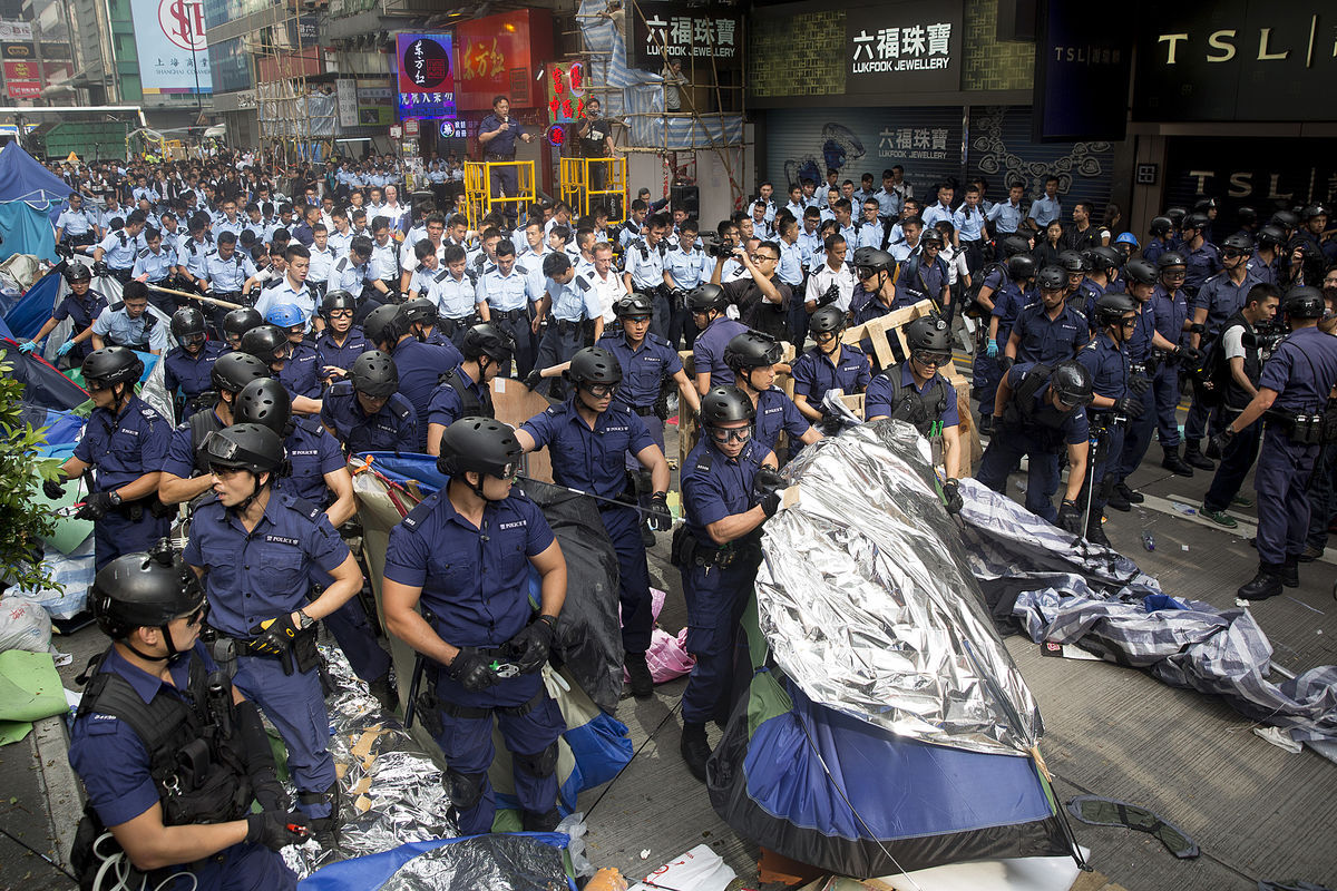 Student Leaders Detained in Mong Kok Clearance
