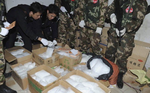 24,000 Suspects Detained in Nationwide Drug Crackdown