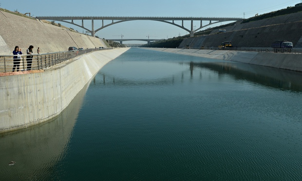 Key Section of Water Diversion Project Opens