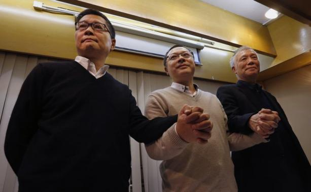 HK Protest Leaders Found Guilty