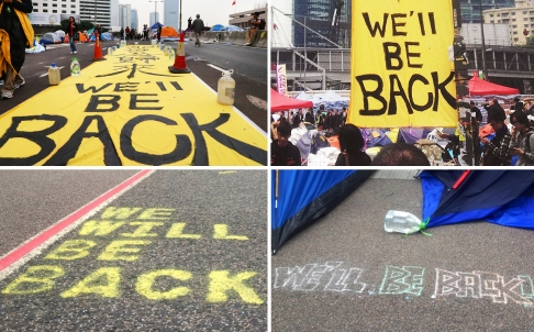 Bailiffs Clear Out Admiralty Protest Sites (Updated)