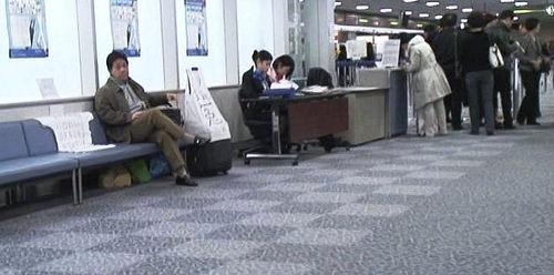 Feng Zhenghu in Narita Airport. (Source: Feng Zhenghu)