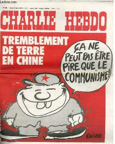 Charlie Hebdo, China, Press Freedom, and Solidarity