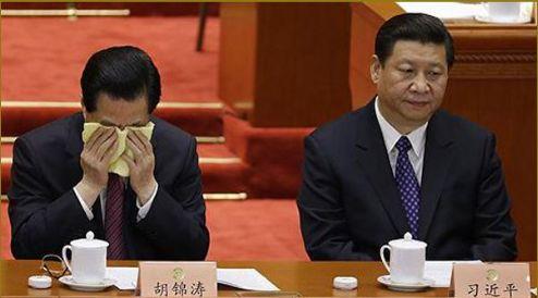 River Crabbed: Hu Jintao's Tears