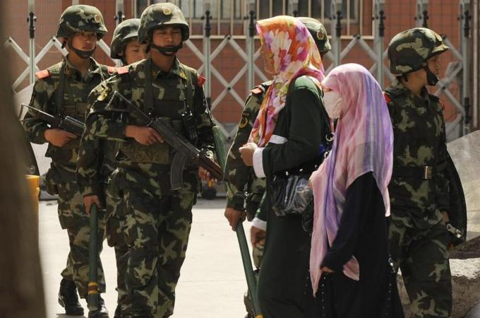 Xinjiang Collecting Residents' Biometric Data