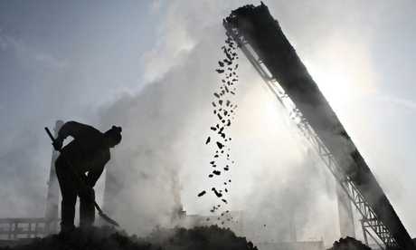 China's Coal Output Falls for First Time This Century