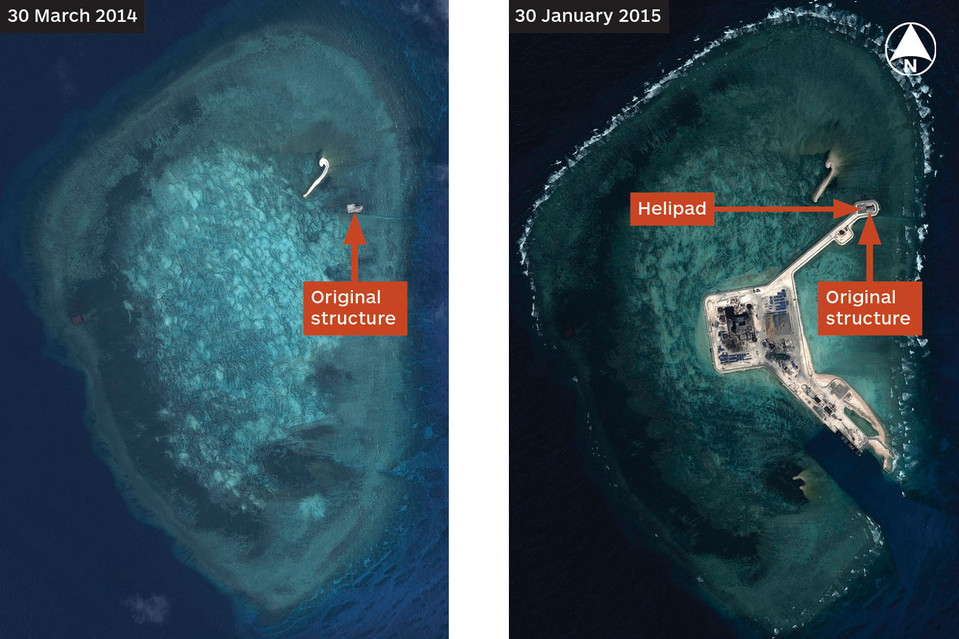 South China Sea Island Construction Expands