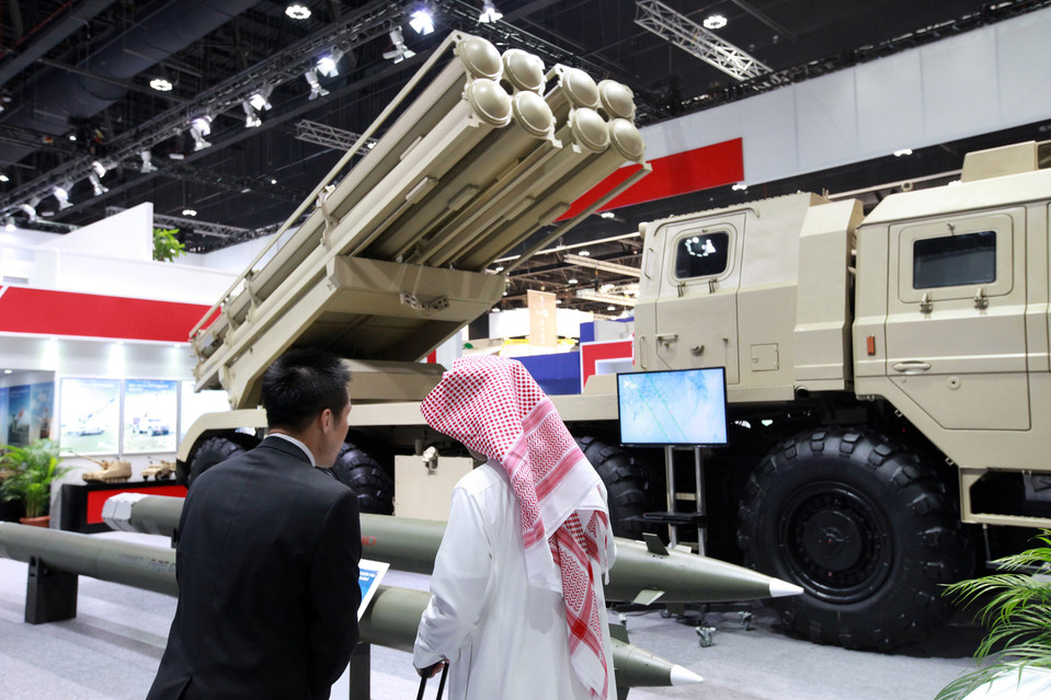 China Climbs to Distant Third in Arms Export Ranking
