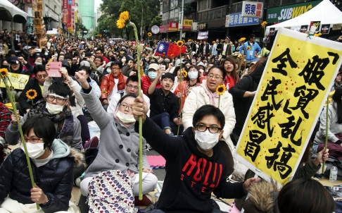Impact of Taiwan's Sunflower Movement Endures