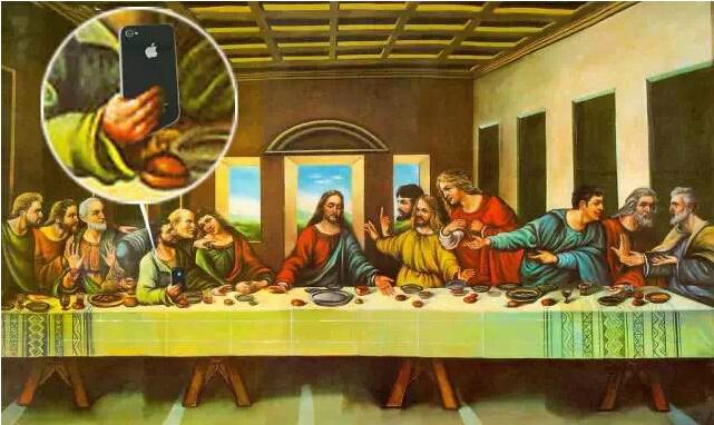 The last supper. (Artist: Smiling Rabbit 笑脸兔)