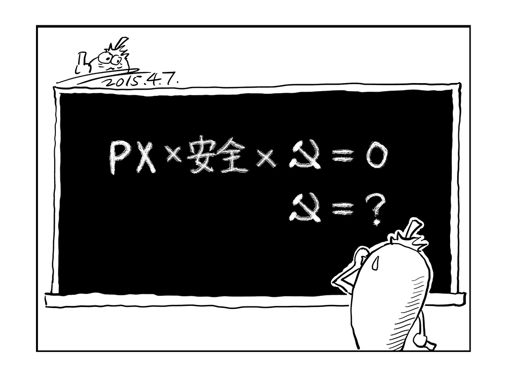 Drawing the News: The PX Equation