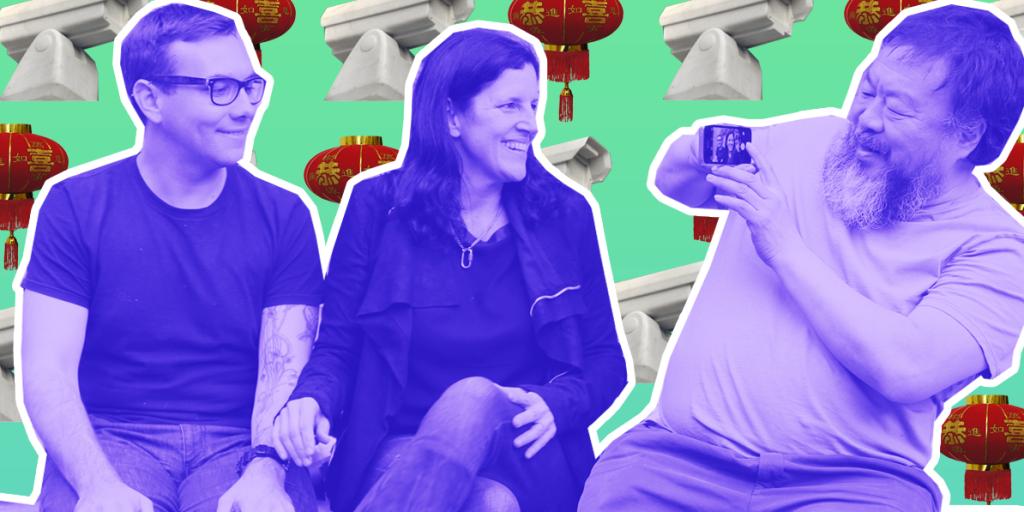 In Beijing: Ai Weiwei, Jacob Appelbaum & Laura Poitras