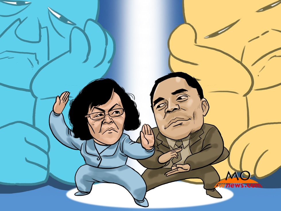 Drawing the News: Hu Shuli vs. Guo Wengui