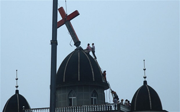 Christians Who Opposed Cross Removals Detained