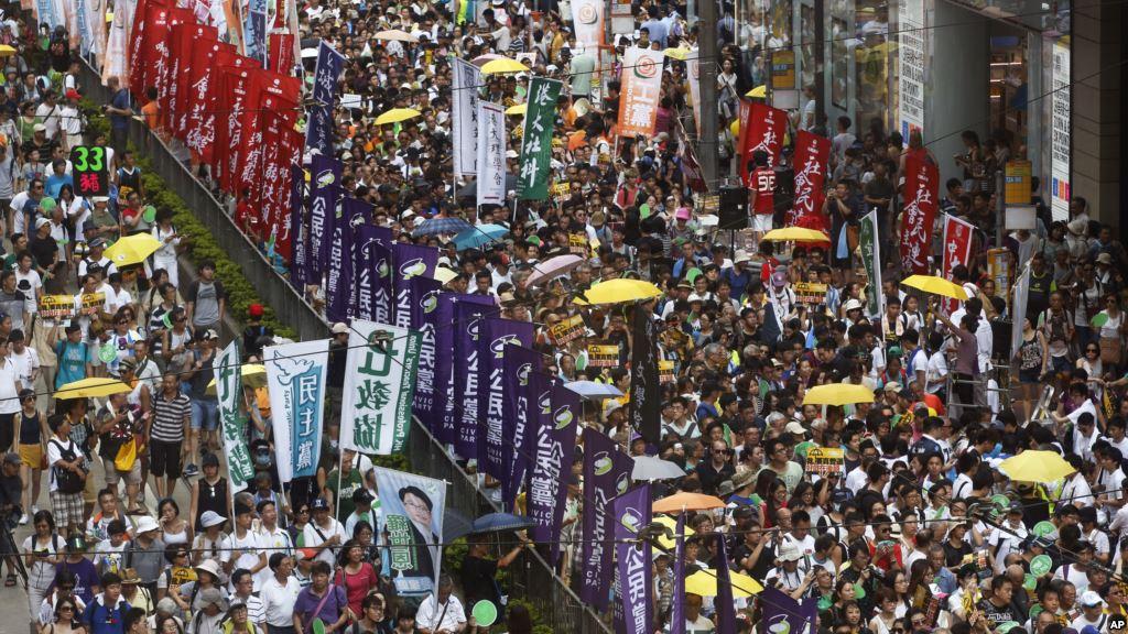 Minitrue: July 1 Hong Kong Protests