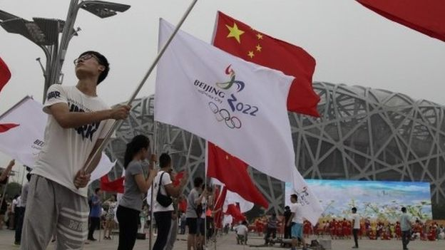 Beijing Wins Olympic Bid Despite Rights Concerns