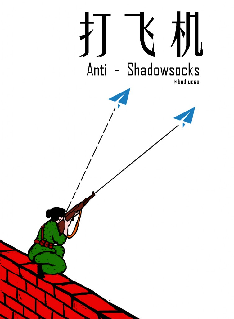 打飞机 anti Shadowsocks 新版