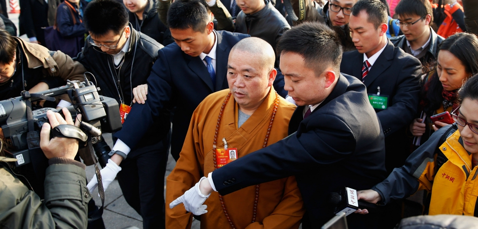Religious Affairs Bureau to Probe Shaolin Abbot