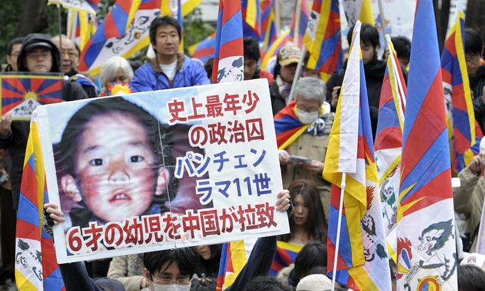 "China Says Missing Panchen Lama ""Living Normal Life"""