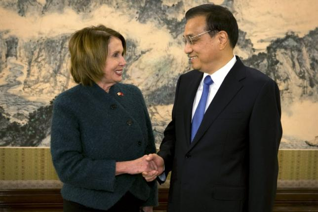 Pelosi Voices Support for Dalai Lama on China Visit
