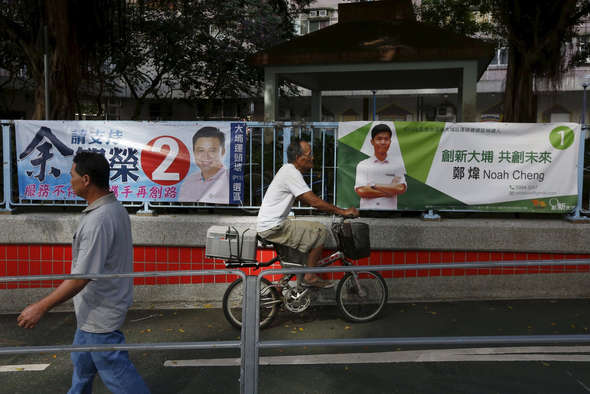 HK 'Umbrella Soldiers' Win Seats In Local Elections