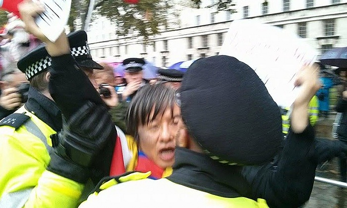 Protester Shao Jiang Files Complaint Against UK Police