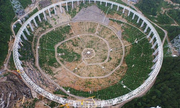 9,000 to be Displaced for Massive Radio Telescope