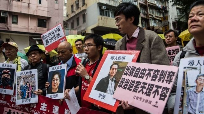 U.N., Publishers Speak Up for Hong Kong Booksellers