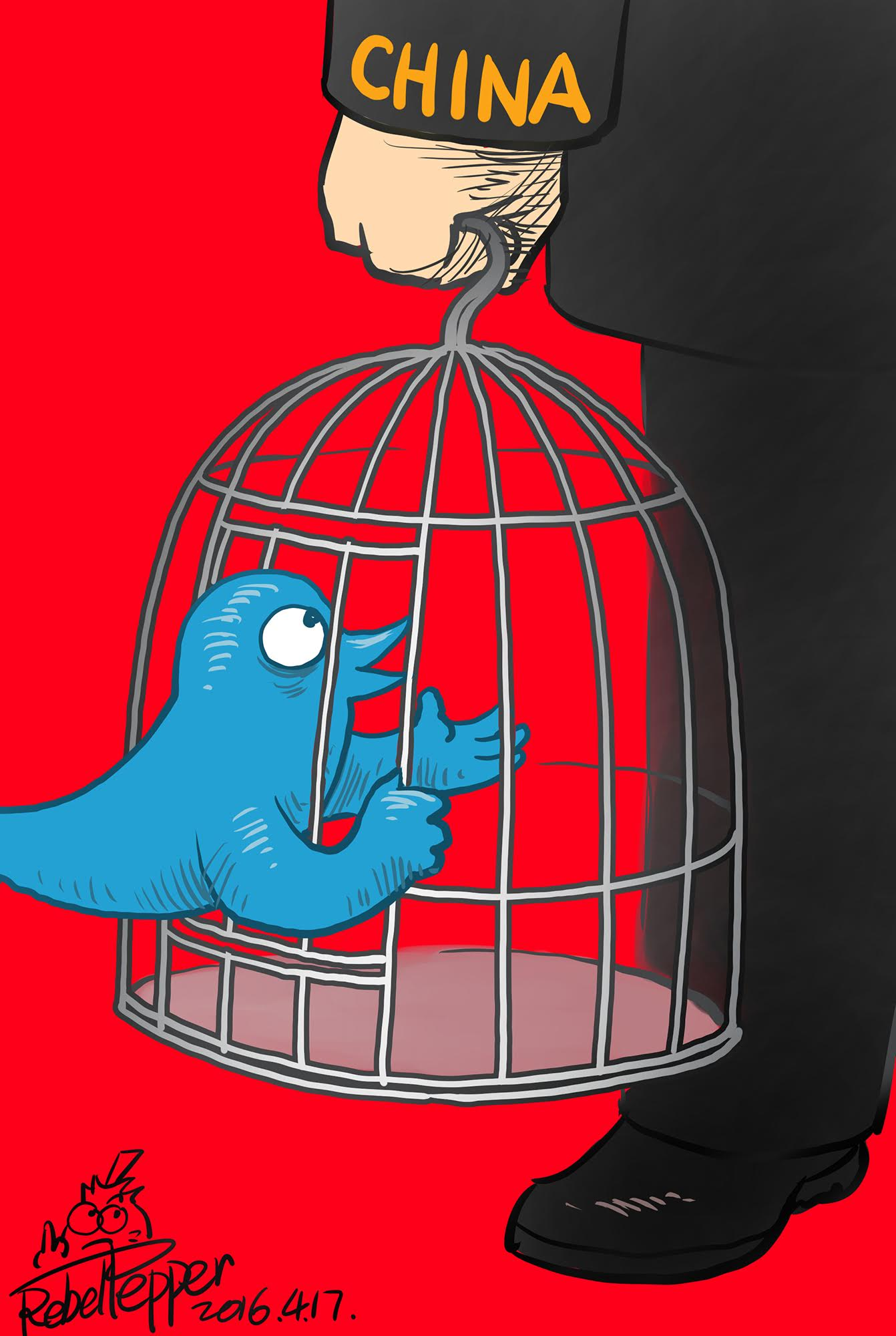 TwitterCaged