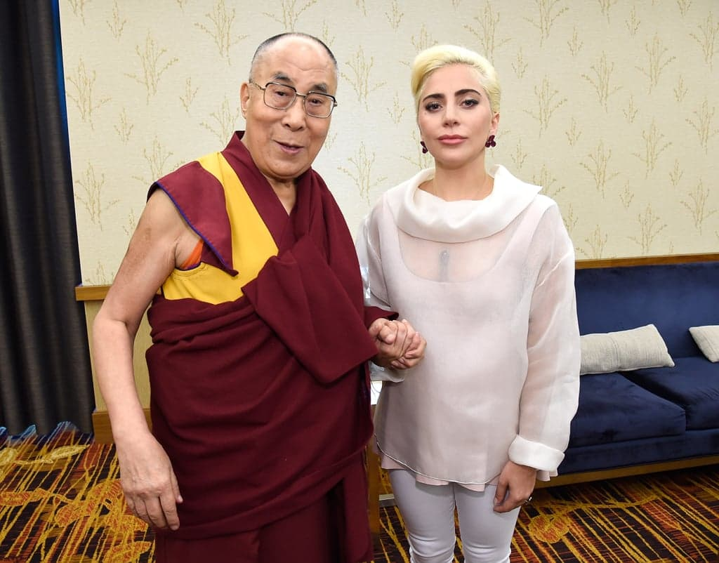 "Lady Gaga ""Banned"" in China After Dalai Lama Meeting"