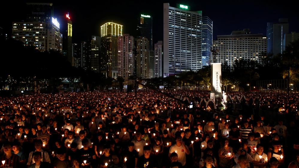 Amid Infighting, Hong Kong Marks June 4 Anniversary