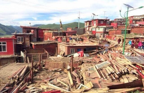 Tibetan Groups Call for End to Demolition at Buddhist Site