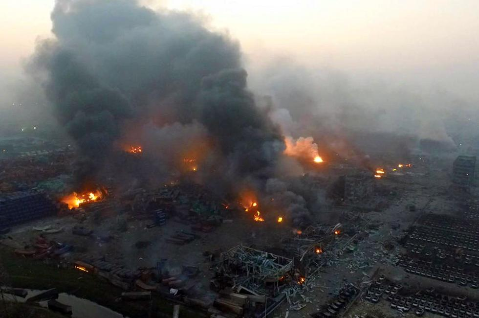 Industrial Accidents Continue One Year After Tianjin Blasts