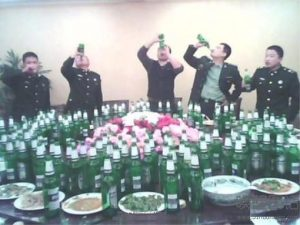 The Dinner Party at work. (Source: Qiwen Lu)